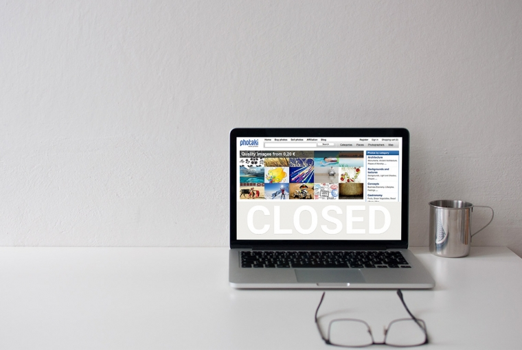 Photaki Is Closing | Stock Photo Agency