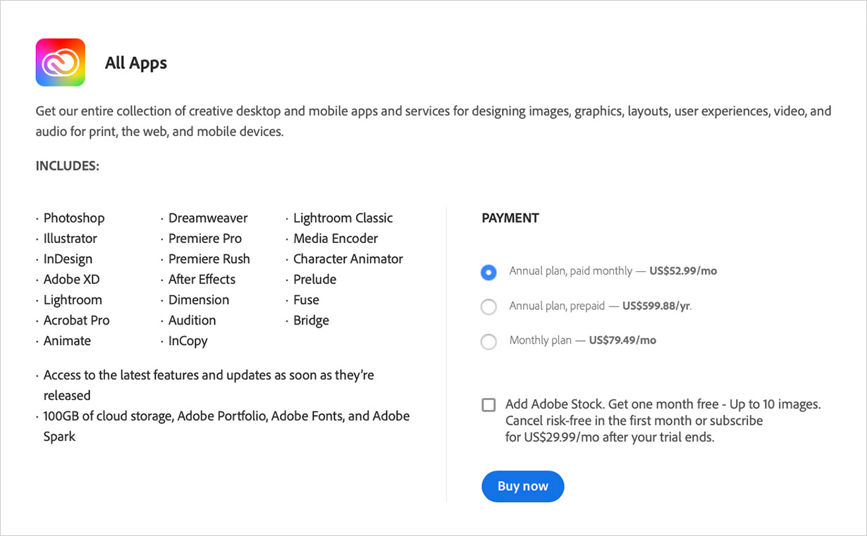 Adobe Creative Cloud Review | Pricing | Stock Photo Adviser