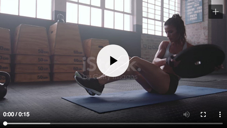 Effective Tips for Facebook Ads | iStock Fitness Video Example