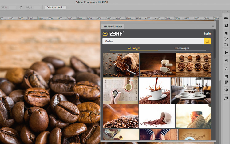 Best Stock Photo Plugins | 123RF Plugin for Photoshop