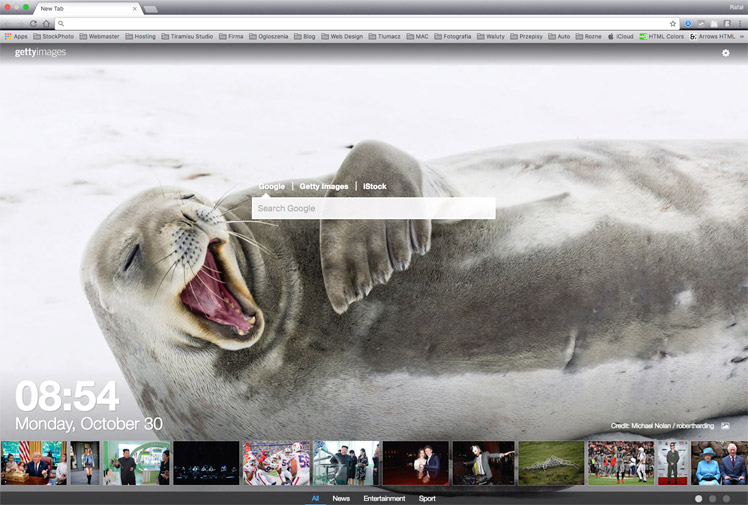 Best Stock Photo Plugins | Getty Images New Tab For Chrome Plugin