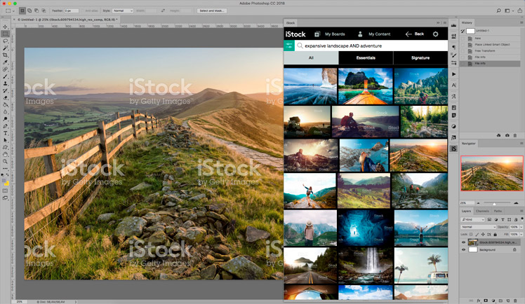Best Stock Photo Plugins | iStock Plugin for Adobe Creative Cloud