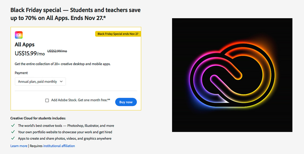Students And Teachers Save Up To 70% | Stock Photo Adviser