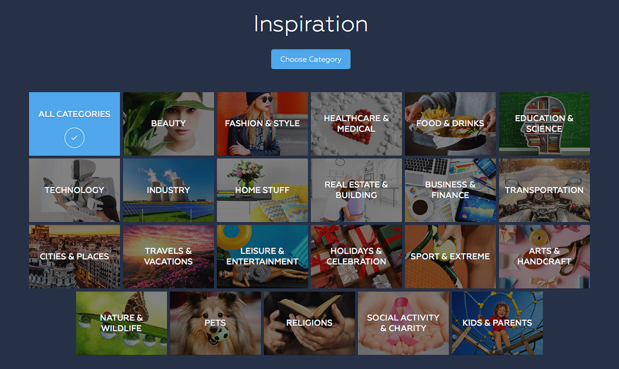 Crello Visual Editor | Inspiration | Stock Photo Adviser